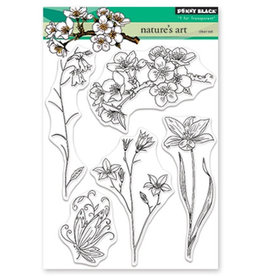 penny black Penny Black Transparant stamp set Nature's art 30-469