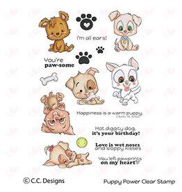 CC Design CC Design Clear Stamp Puppy Power CCD-0085