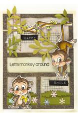 CC Design CC Design Clear Stamp Monkey CCD-0132