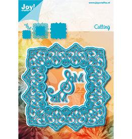 Joy Craft Joy Craft Ornamenten Noor - Vierkant blauw 6002/1258