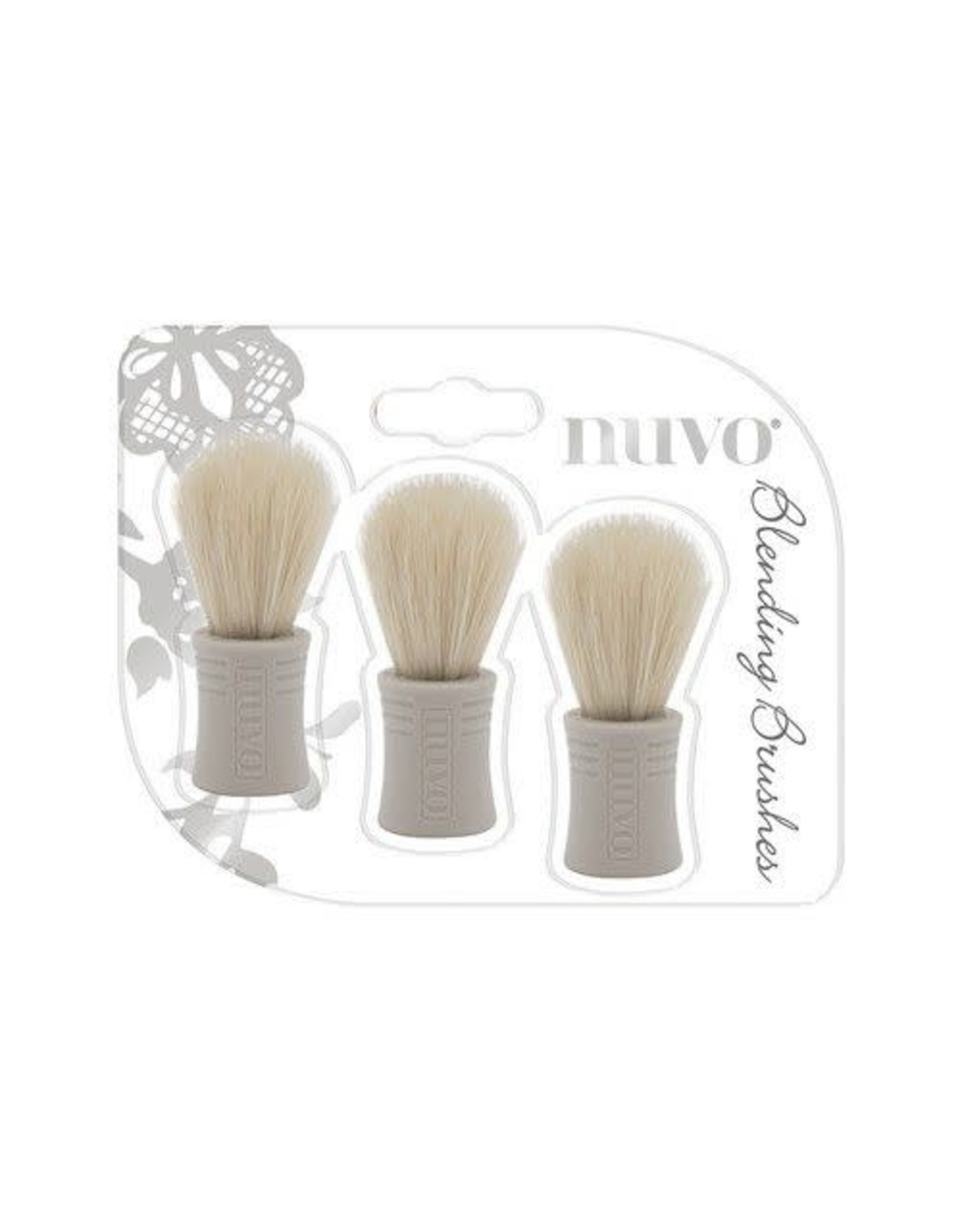 Nuvo by tonic Nuvo Blending brushes - borstels 3 stuks 970N