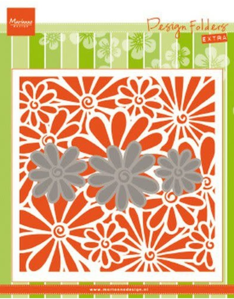 Marianne Design Marianne D Embossing folder Extra madeliefjes DF3451 152x154mm