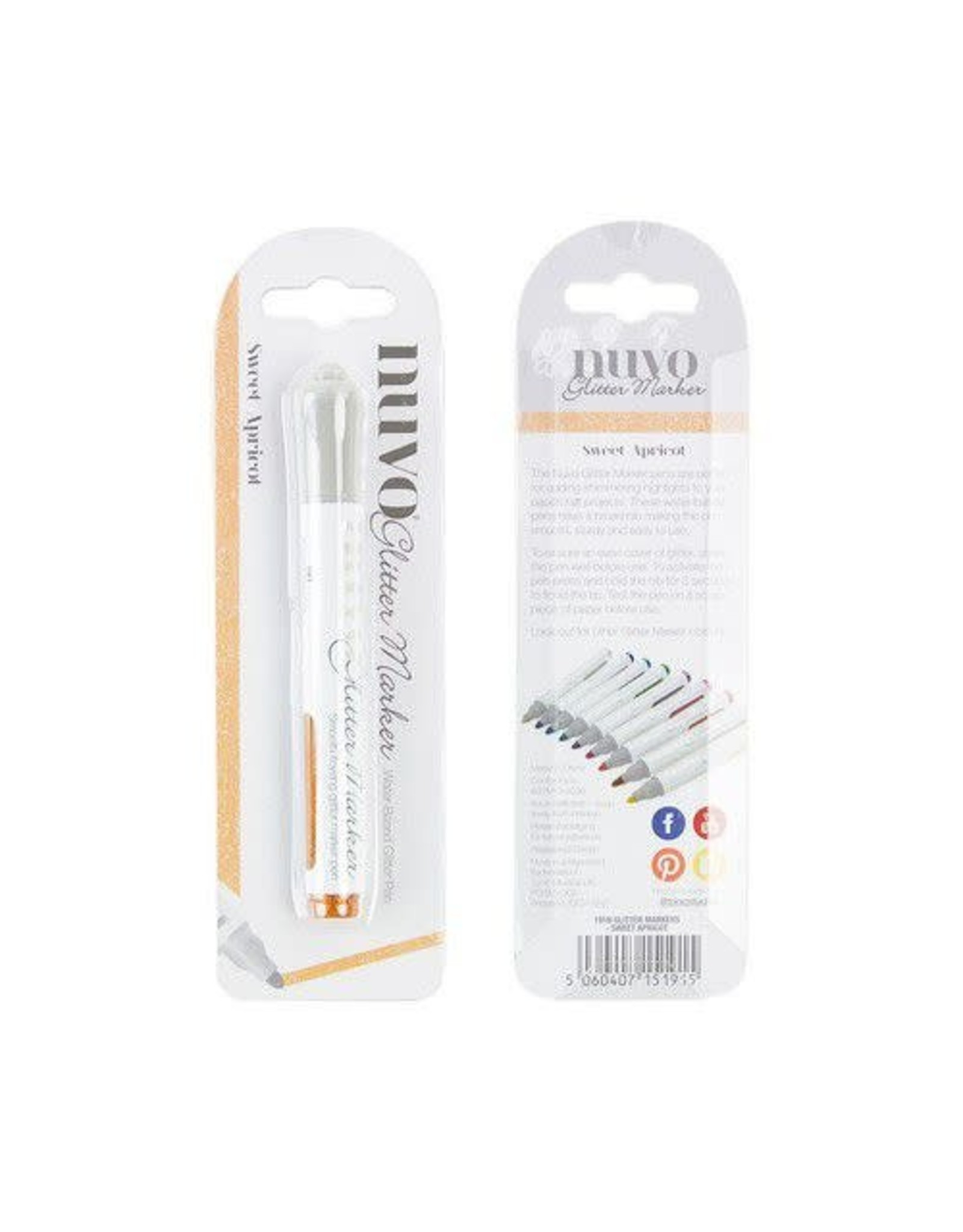Nuvo by tonic Nuvo Glitter marker - sweet apricot 191N