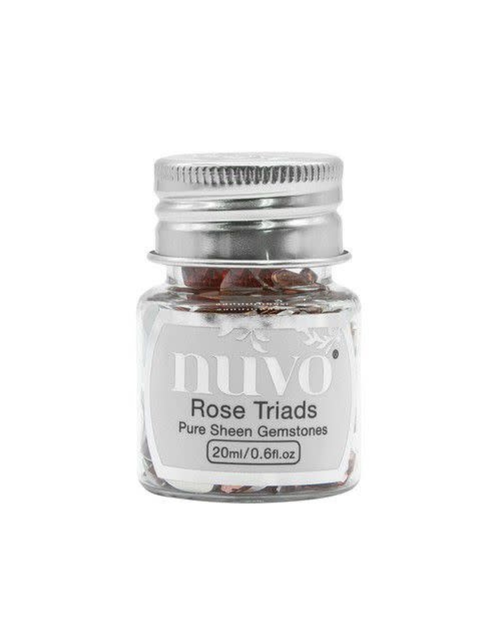 Nuvo by tonic Nuvo Gemstones (ass. sizes) - rose triad 1407N
