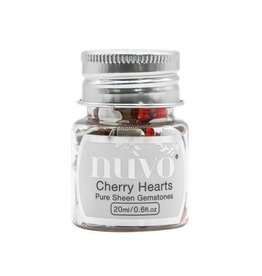 Nuvo by tonic Nuvo Gemstones (ass. sizes) - cherry hearts 1400N