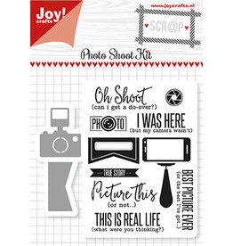 Joy Craft Joy Crafts Scrap Snijstencils & Stempels - Photo Shoot Kit  6004/0029