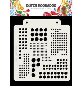 Dutch Doobadoo Dutch Doobadoo Dutch Mask Art Blobs 163x148mm 470.715.138