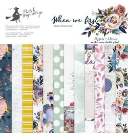 Piatek Piatek13 - Paper pad When we first met 12 P13-381 12x12