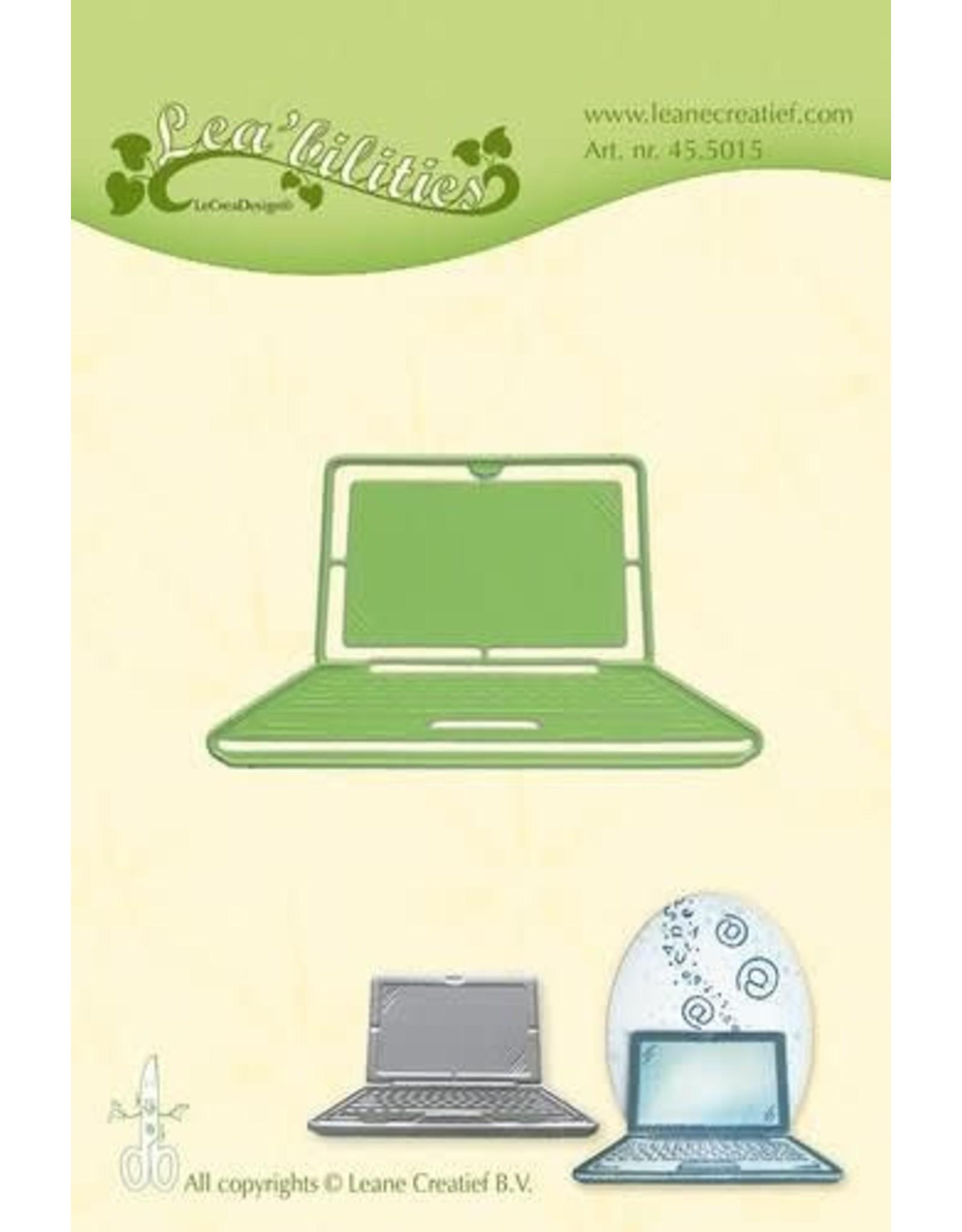 Lecrea design LeCrea - Lea'bilitie Laptop snij en embossing mal 45.5015