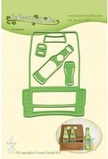 Lecrea design LeCrea - Lea'bilitie Bier party snij en embossing mal 45.5602