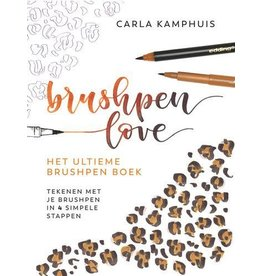 Kosmos Kosmos Boek - Het ultieme brushpenboek Carla Kamphuis