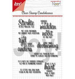 Joy Craft Joy Crafts Teksten Noor - Condoleance - Txt NL 6410/0498