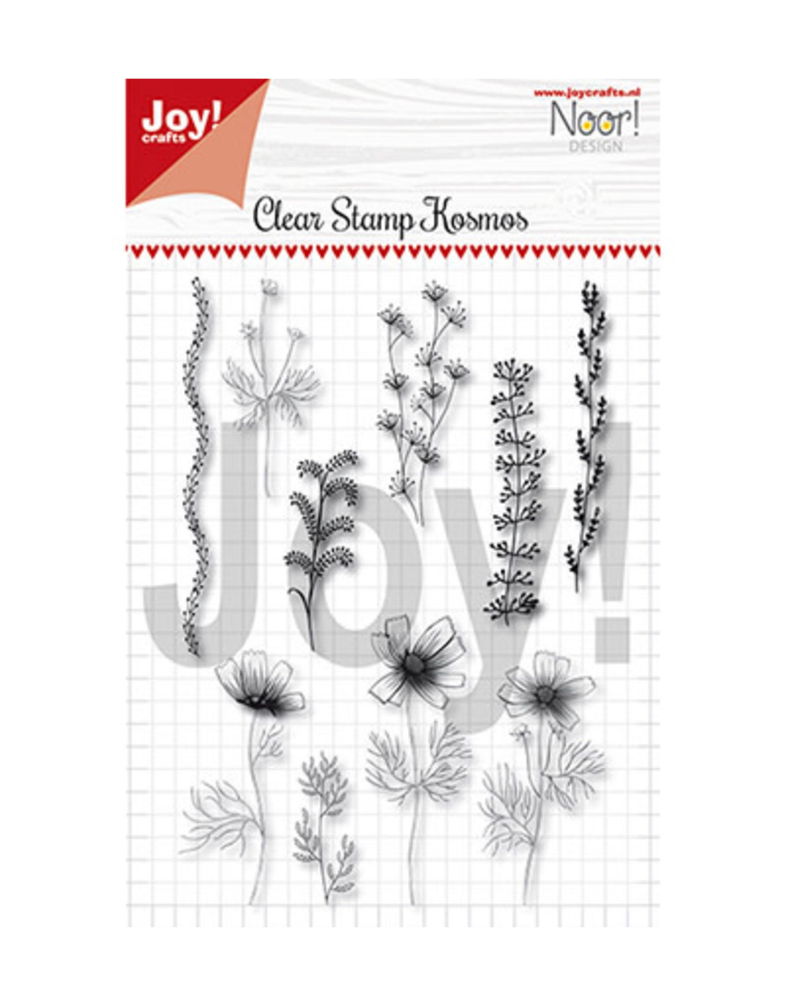Joy Craft Joy Crafts Bloemen Noor - Condoleance - Kosmos bloemen 6410/0499