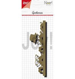 Joy Craft Joy Crafts Mannen Noor - Border True Gentleman 6002/1318