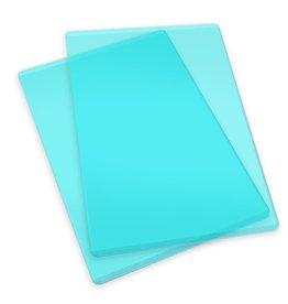 Sizzix Sizzix Accessory - Cutting pads standard 1 pair (mint) 660522