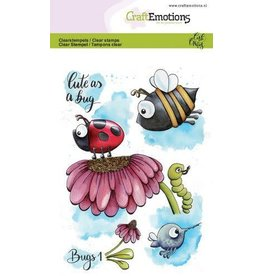 Craft Emotions CraftEmotions clearstamps A6 - Bugs 1 Carla Creaties