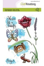 Craft Emotions CraftEmotions clearstamps A6 - Bugs 3 Carla Creaties