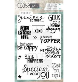 COOSA Craft COOSA Crafts clearstamps A6 - Mixed for you COC-072