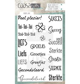 COOSA Craft COOSA Crafts clearstamps A6 - Voor jou (NL) COC-073