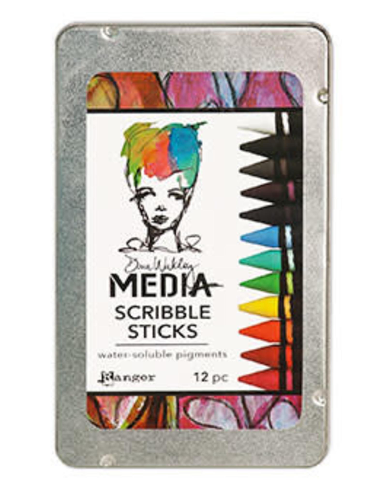 Ranger Ranger Dina Wakley Media Scribble Sticks 1