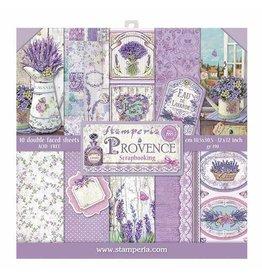 Stamperia Stamperia Provence 12x12 Inch Paper Pad (SBBL51)