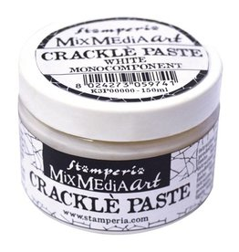 Stamperia Stamperia Crackle Paste 150ml White (K3P37)