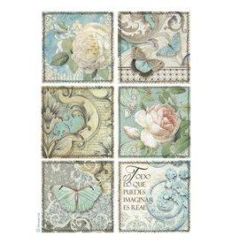 Stamperia Stamperia Rice Paper A4 Azolejos (DFSA4384)