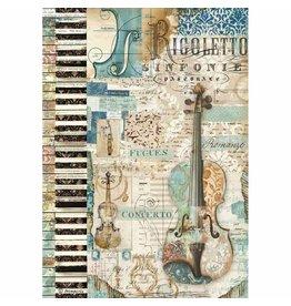 Stamperia Stamperia Rice Paper A4 Music Violin (DFSA4324)