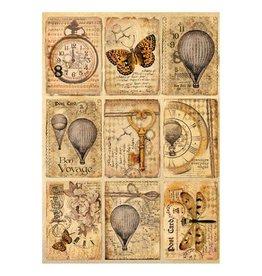 Stamperia Stamperia Rice Paper A4 Mix Media Postcards (DFSA4240)