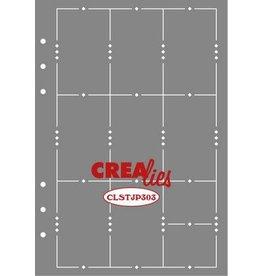 Crealies Crealies Journalzz & Pl Stencil Journaling Week Pagina A CLSTJP303 14,5 x 20,8 cm