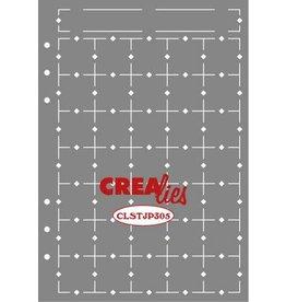 Crealies Crealies Journalzz & Pl Stencil Journaling Maand Pagina A CLSTJP305 14,5 x 20,8 cm
