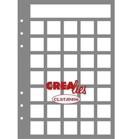 Crealies Crealies Journalzz & Pl Stencil Journaling Maand Pagina B CLSTJP306 14,5 x 20,8 cm