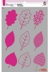 Pronty Pronty Mask stencil Leaves A4 470.770.010 by Jolanda