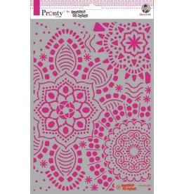 Pronty Pronty Mask stencil Mandala background A4 470.770.009 by Jolanda