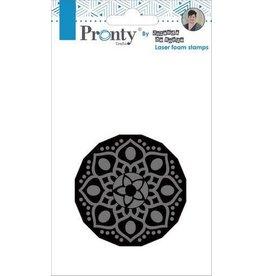 Pronty Pronty Foam stamp Mandala 1 494.905.001 by Jolanda
