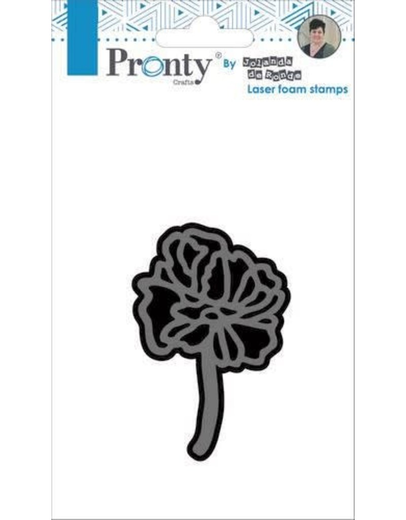Pronty Pronty Foam stamp Flower 2 494.905.005 by Jolanda