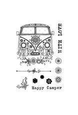 Creative Expressions Pink Ink Designs Voertuig Camper PI003