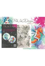 Creative Expressions Pink Ink Designs Maritiem  Sea Nymph PI025