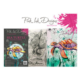 Creative Expressions Pink Ink Designs Dieren Sea Turtle PI019