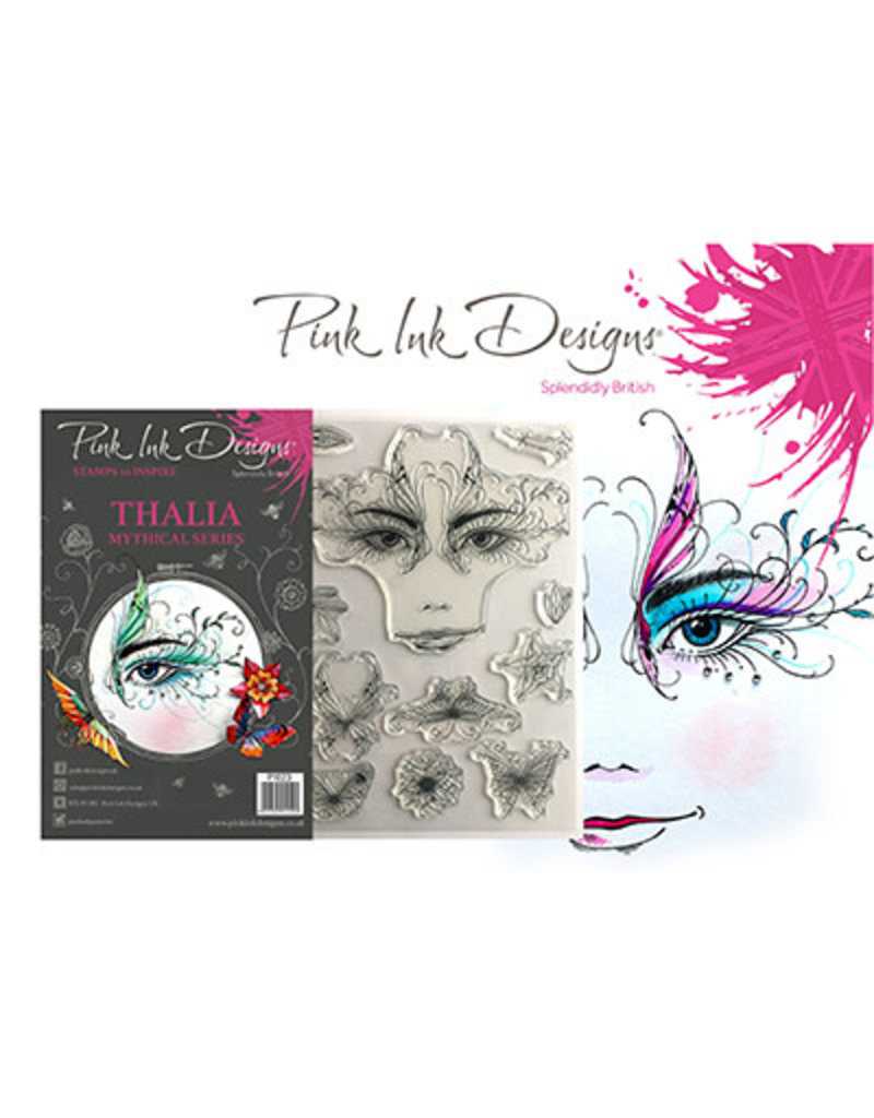 Creative Expressions Pink Ink Designs Kabouter, elfjes Thalia PI023