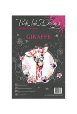 Creative Expressions Pink Ink Designs Dieren  Giraffe PI012
