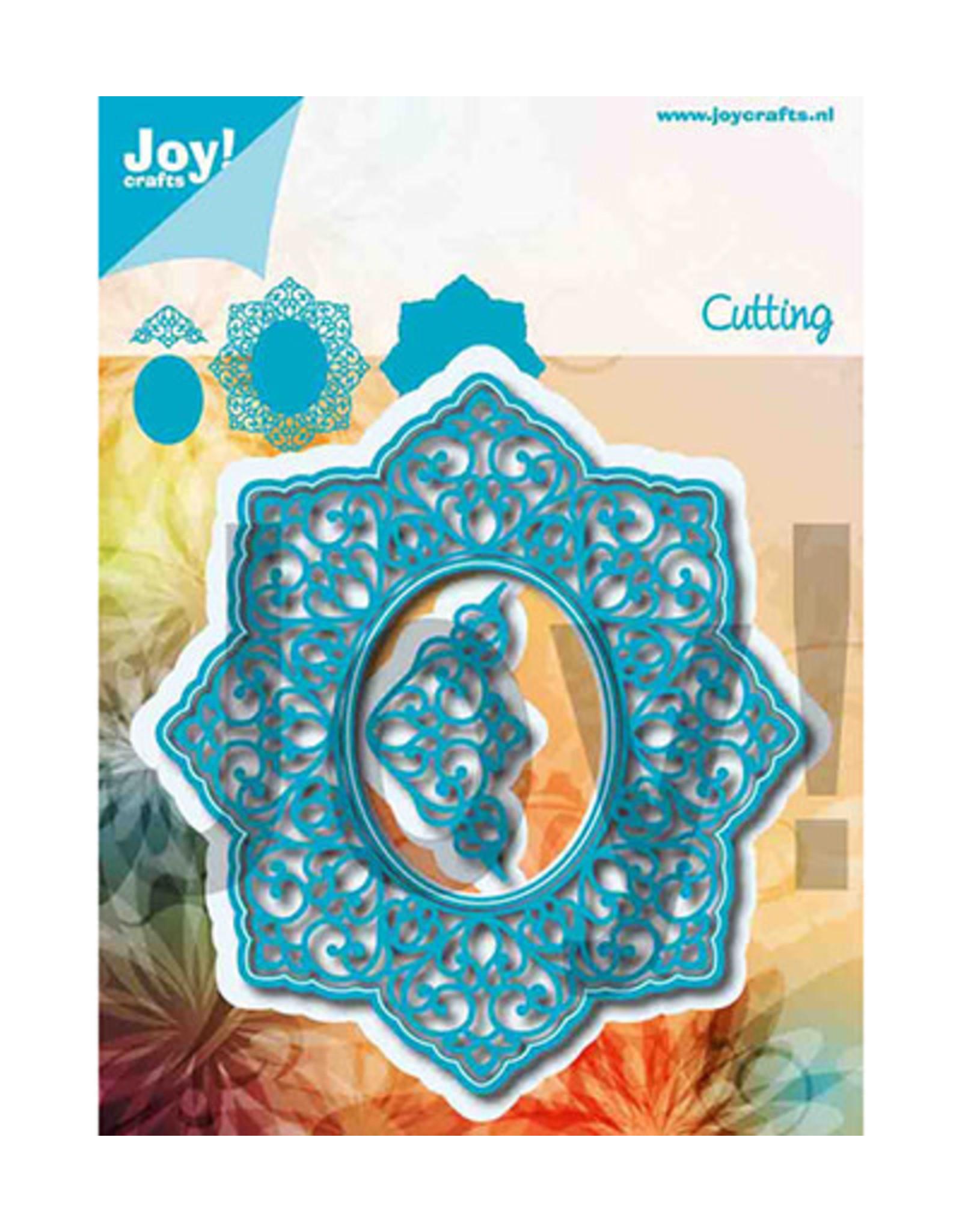 Joy Craft Joy Crafts Ornamenten Noor - Lovely Oval 6002/1256