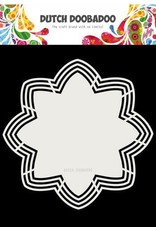 Dutch Doobadoo Dutch Doobadoo Dutch Shape Art Octo Flower 21x21 470.713.177