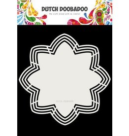 Dutch Doobadoo Dutch Doobadoo Dutch Shape Art Octo Flower 21x21 470.713.177