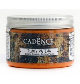 Cadence Cadence rusty patina verf Oranje 150 ml