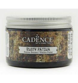 Cadence Cadence rusty patina verf Grijs zwart 150 ml
