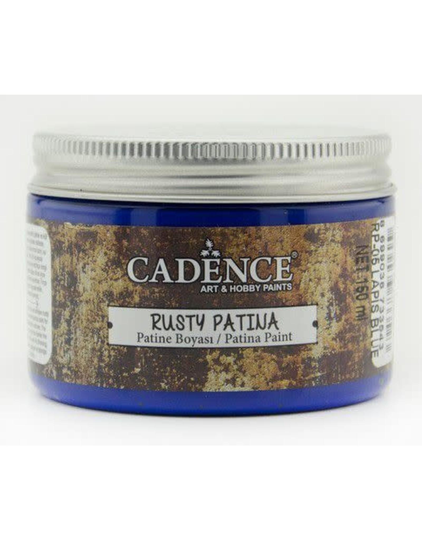 Cadence Cadence rusty patina verf Lapis Blue 150 ml