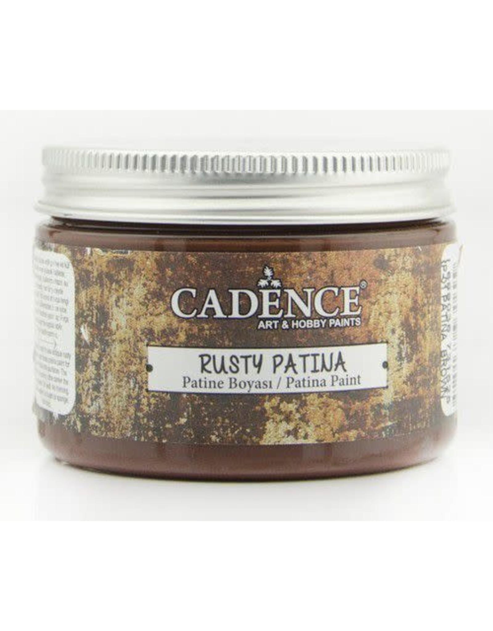 Cadence Cadence rusty patina verf Patina Brown 150 ml