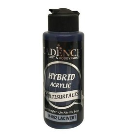 Cadence Cadence Hybride acrylverf (semi mat) Donkerblauw 120 ml