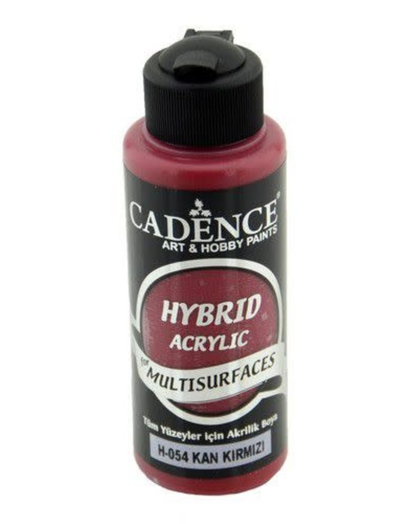 Cadence Cadence Hybride acrylverf (semi mat) Bloed rood 120 ml